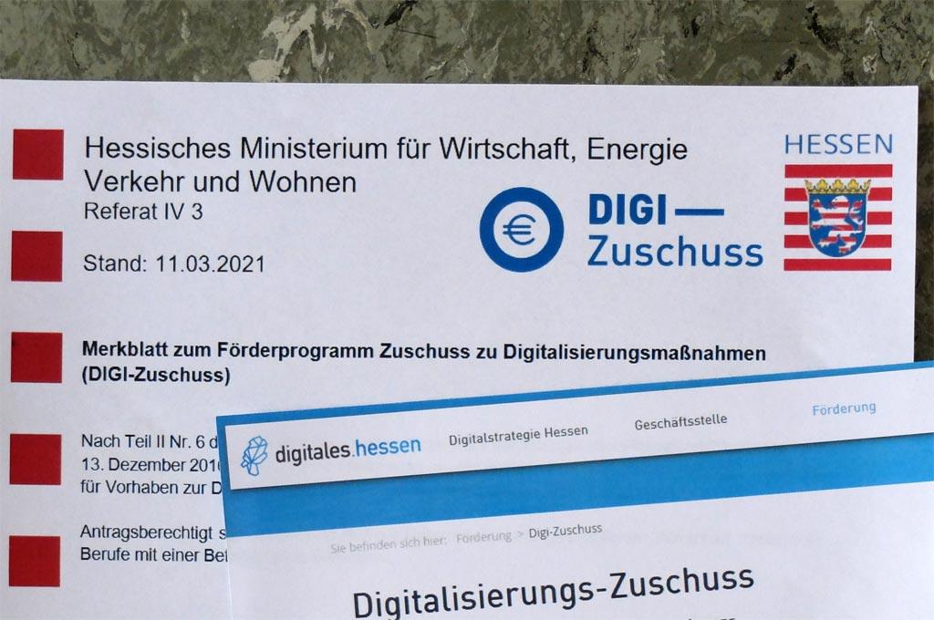 DIGI-Zuschuss Hessen